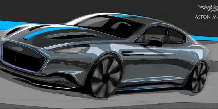 all-electric Aston Martin RapidE