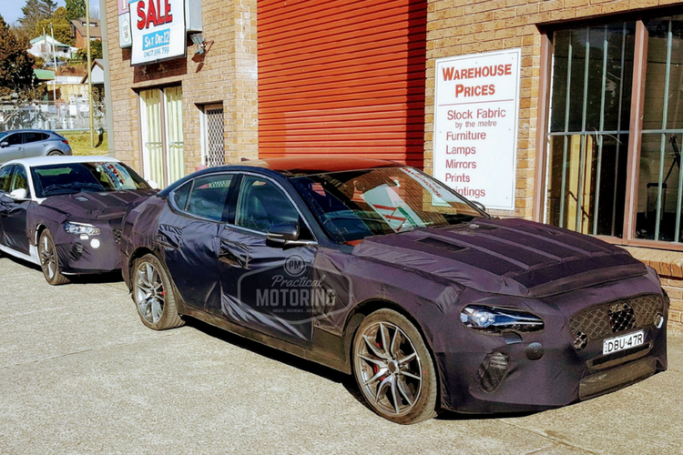 Genesis G70 by Practical Motoring