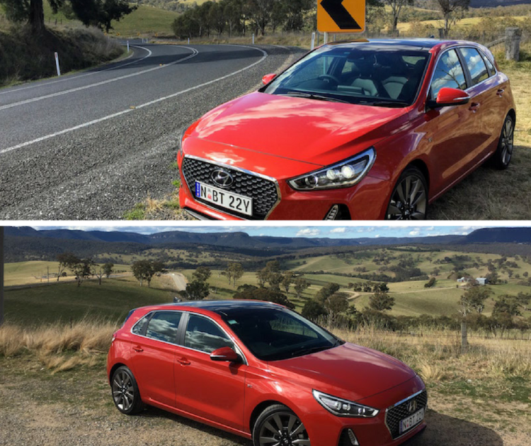 i30 SR Premium on Practical Motoring's test loop