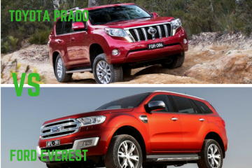 Toyota Prado Vs Ford Everest by Practical Motoring