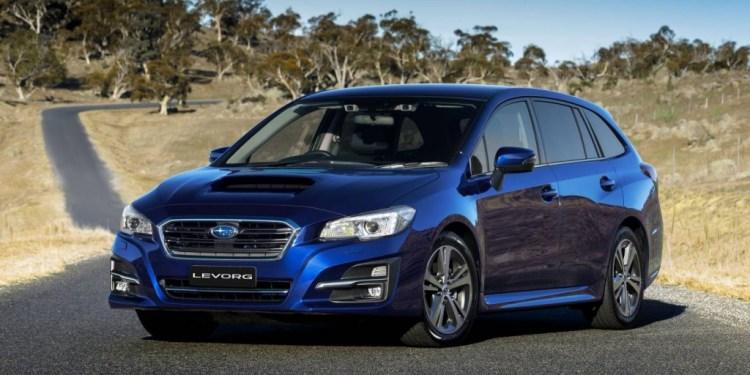 new Subaru Levorg 1.6 GT