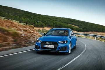 Audi RS 4 Avant revealed at the IAA 2017.