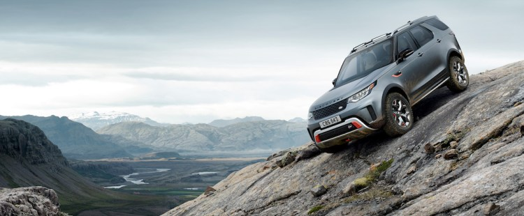 Discovery SVX, launched at the Frankfurt Motor Show, adds extreme all-terrain capability to the Special Vehicle Operations (SVO) product triangle.
