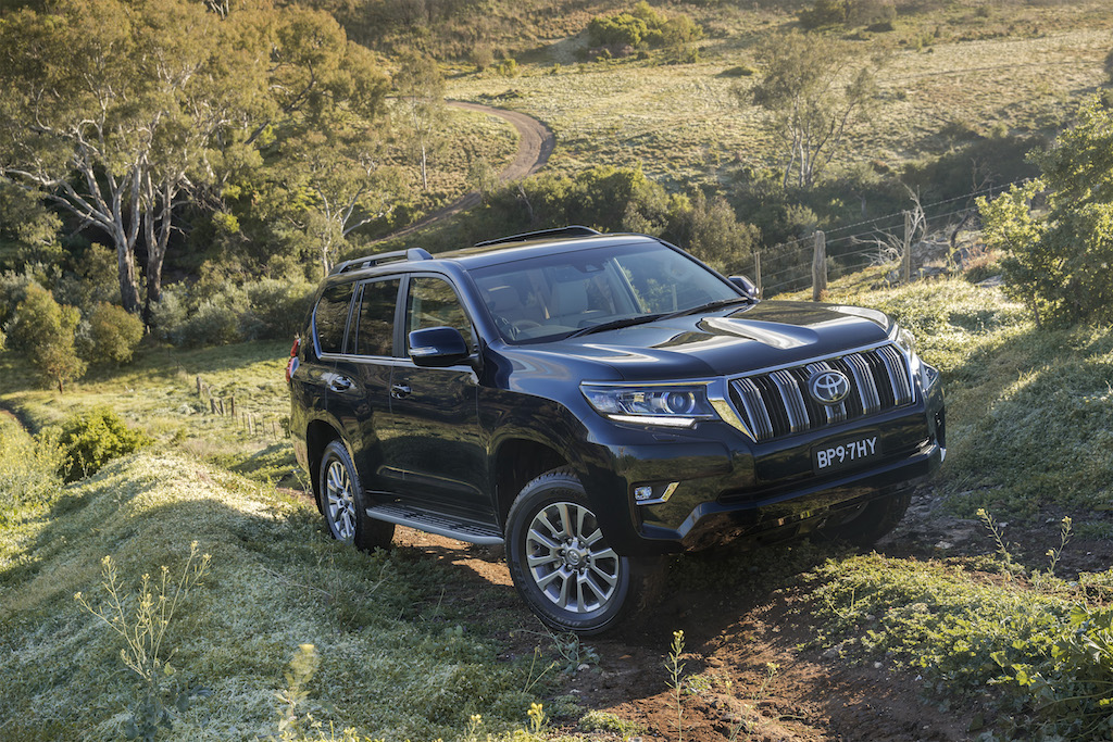 Revised Toyota Land Cruiser Prado