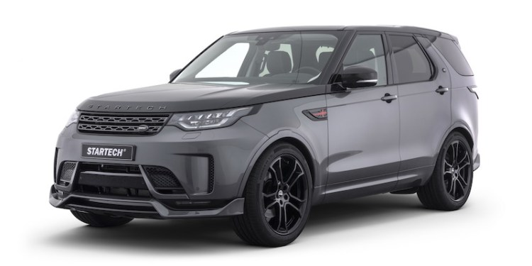 German tuning house, Startech, has revealed its reimagined Land Rover Discovery to be revealed at the Frankfurt Motor Show this month.