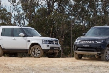 Land Rover Discovery compared to Discovery 4