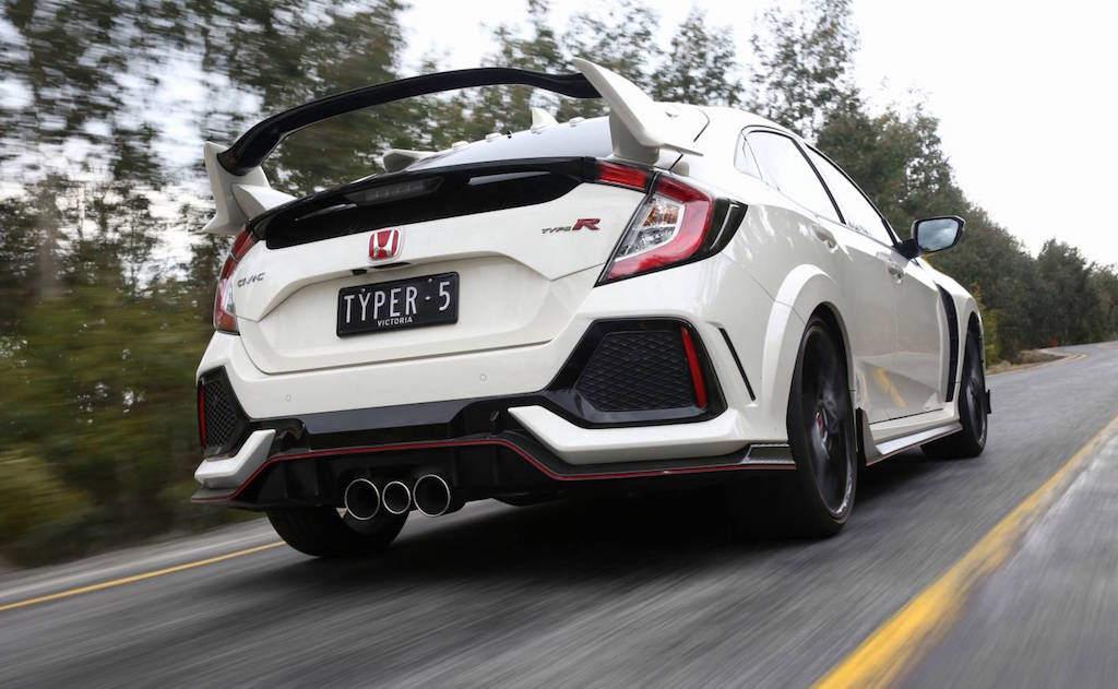 2018 Honda Civic Type R review by Practical Motoring