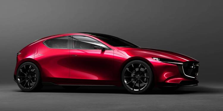 The Mazda Kai Concept has been revealed at the Tokyo Motor Show today hinting at the look of the next-generation Mazda 3.