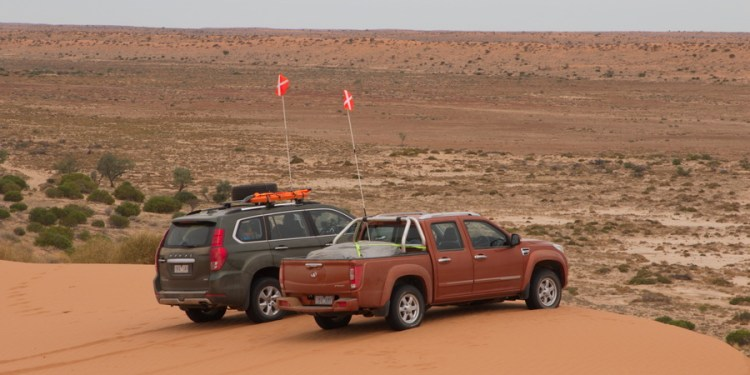 Crossing the Simpson Desert