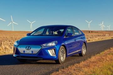 Hyundai IOniq Australia hybrid electric