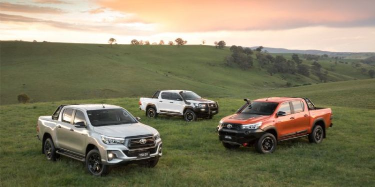 HiLux to get three new variants