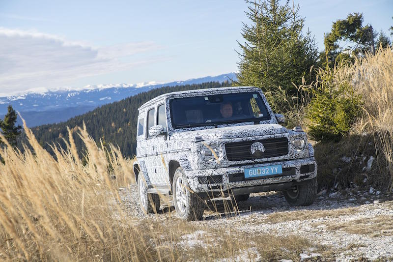 Mercedes-Benz leaks online, off-road specs confirmed