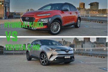 Hyundai Kona vs Toyota C-HR