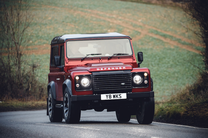 Land Rover launches V8 edition