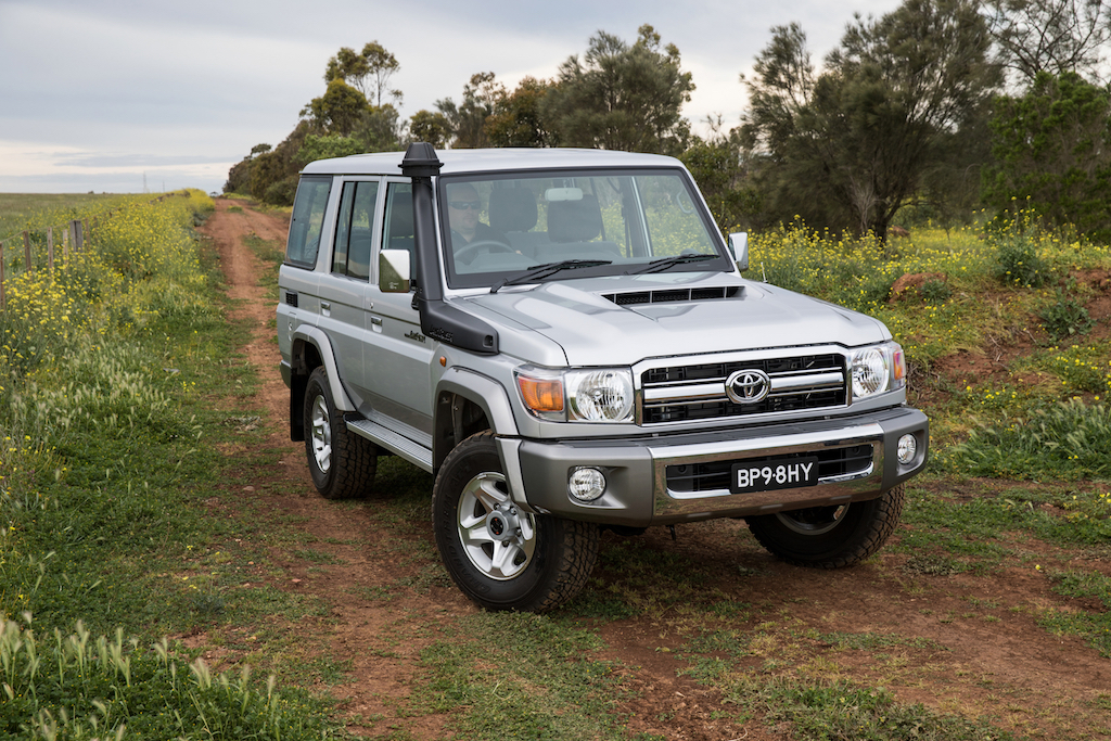 The Toyota LandCruiser TroopCarrier is one of the best bush wagons of all time