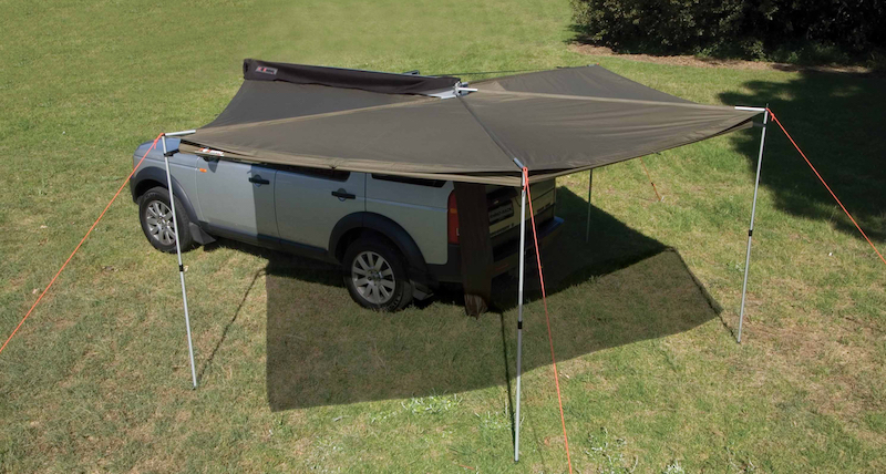 Foxwing awning design