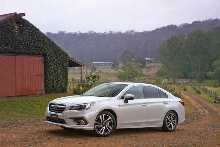 MY18 Subaru Liberty 2.5i Premium