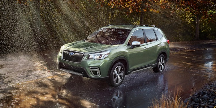 The fifth generation of Subaru's best-selling model, the Symmetrical All-Wheel Drive (AWD) Forester Sports Utility Vehicle (SUV), has been unveiled at New York International Auto Show.