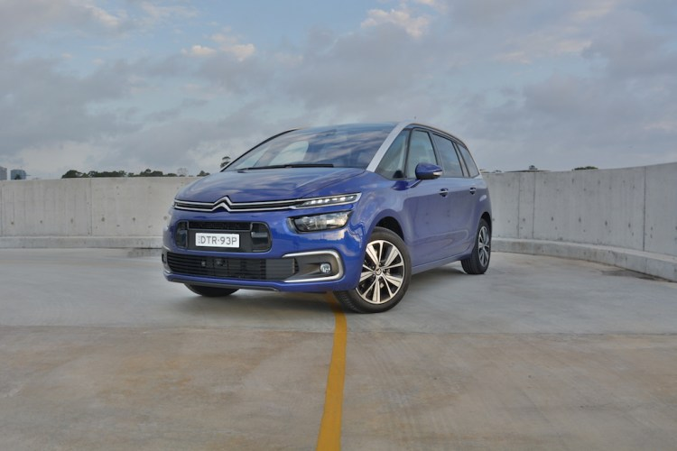 2018 Citroen C4 Grand Picasso Review