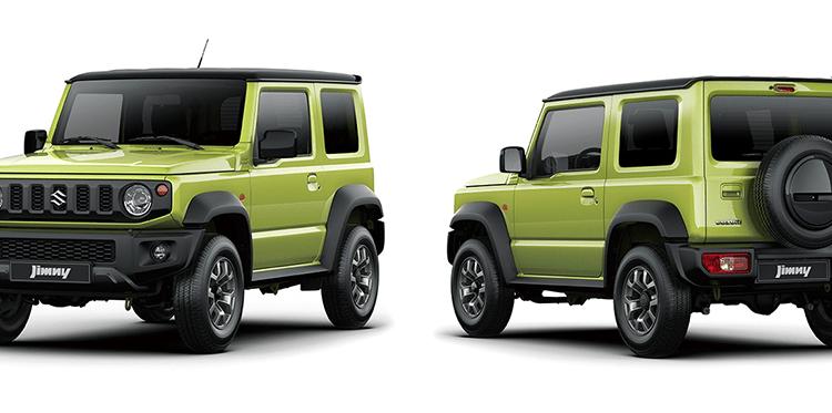 all-new 2019 Suzuki Jimny