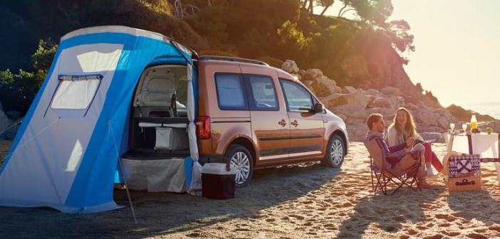 volkswagen caddy beach camper returns to australia from 44 990 orc practical motoring. Black Bedroom Furniture Sets. Home Design Ideas