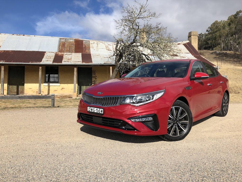 2019 Kia Optima Si Review Practical Motoring