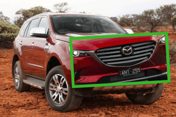 Mazda rejected Ford Everest twin