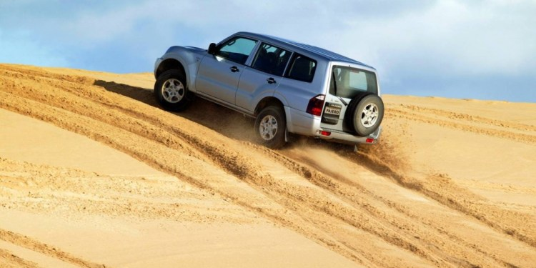 How to drive on sand dunes