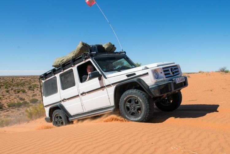 Desert driving tips