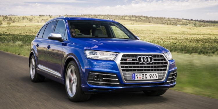 The all-new SQ7 4.0 TDI.