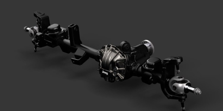 Jeep Performance Parts axles for new Wrangler