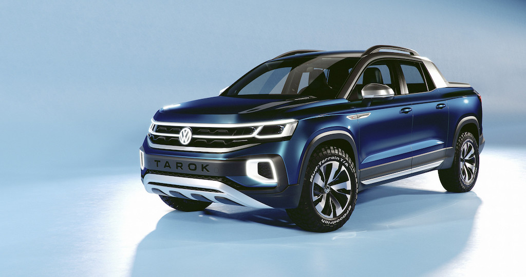 Volkswagen Tarok Concept Revealed