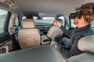 Audi is redefining in-car entertainment at the Consumer Electrics Show (CES) in Las Vegas, with immersive virtual reality technology.