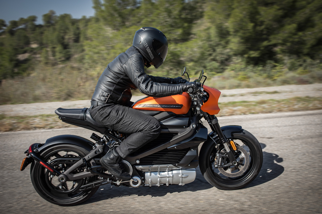 Harley-Davidson LiveWire™ revealed at the 2019 Consumer Electronics Show in Las Vegas.