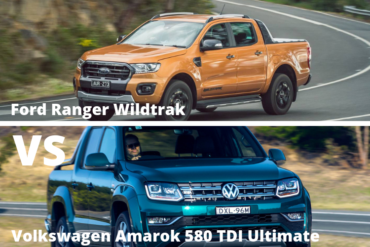 Ford Ranger Wildtrak Vs Volkswagen Amarok 580 TDI Ultimate