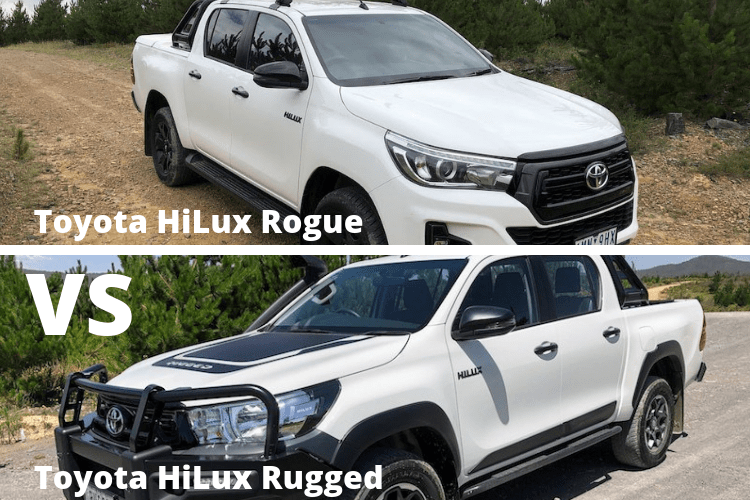 Toyota HiLux Rogue Vs Toyota HiLux Rugged