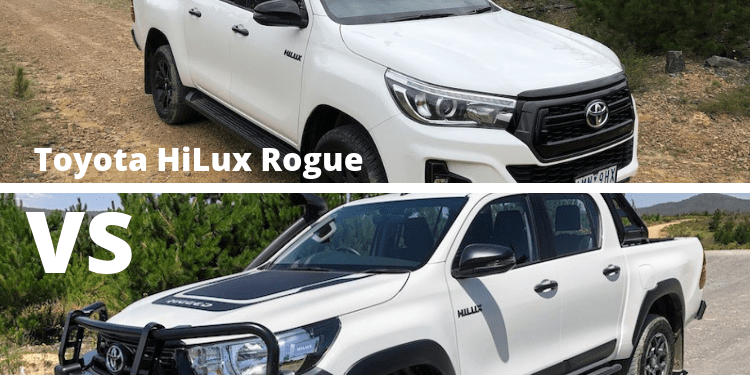 Toyota HiLux Rogue Vs Toyota HiLux Rugged