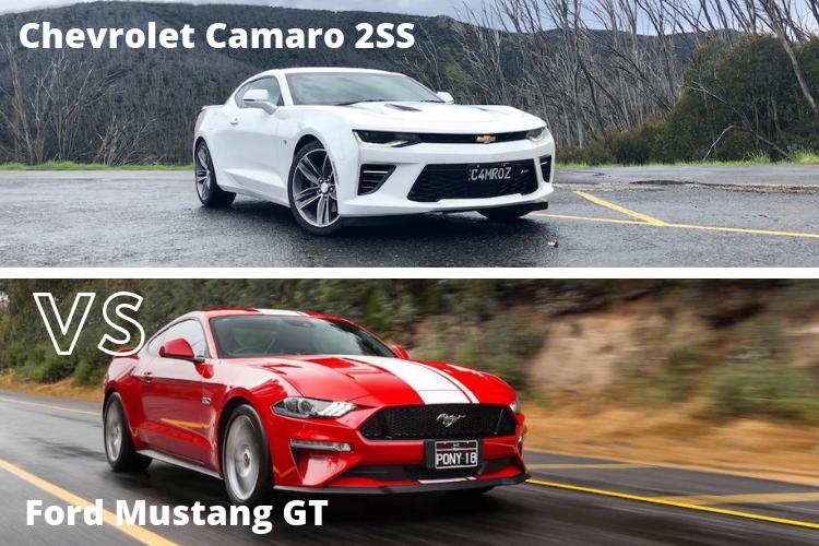 Chevrolet Camaro 2SS Vs Ford Mustang GT