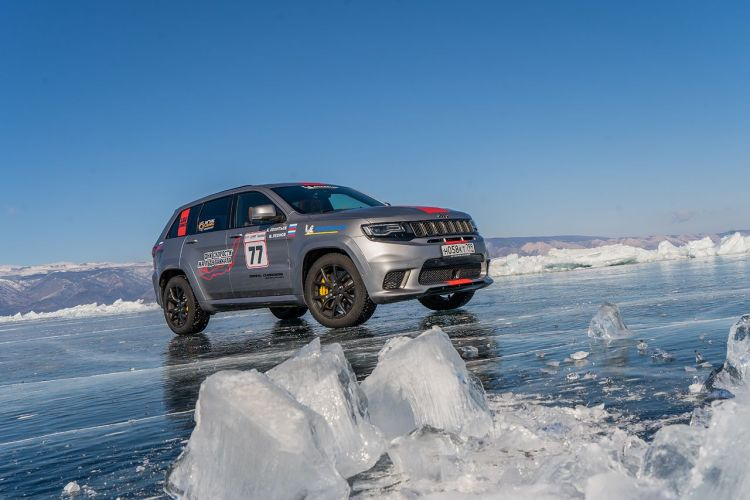 Jeep Grand Cherokee Trackhawk sets speed record
