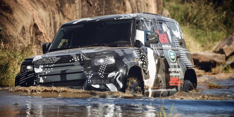prototype 2020 Land Rover Defender