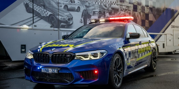 Victoria Police have taken possession of a 460kW BMW M5 Competition as a highway patrol vehicle.