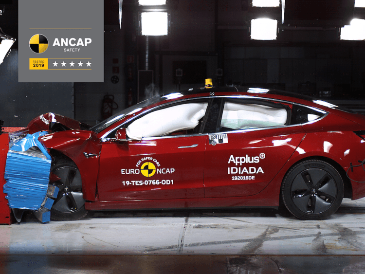 Both the Tesla Model 3 and Audi A6 have scored five-star ratings from ANCAP after the local crash tester assessed EuroNCAP results.