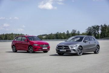 Mercedes-Benz reveals plug-in electric B250e and A2503