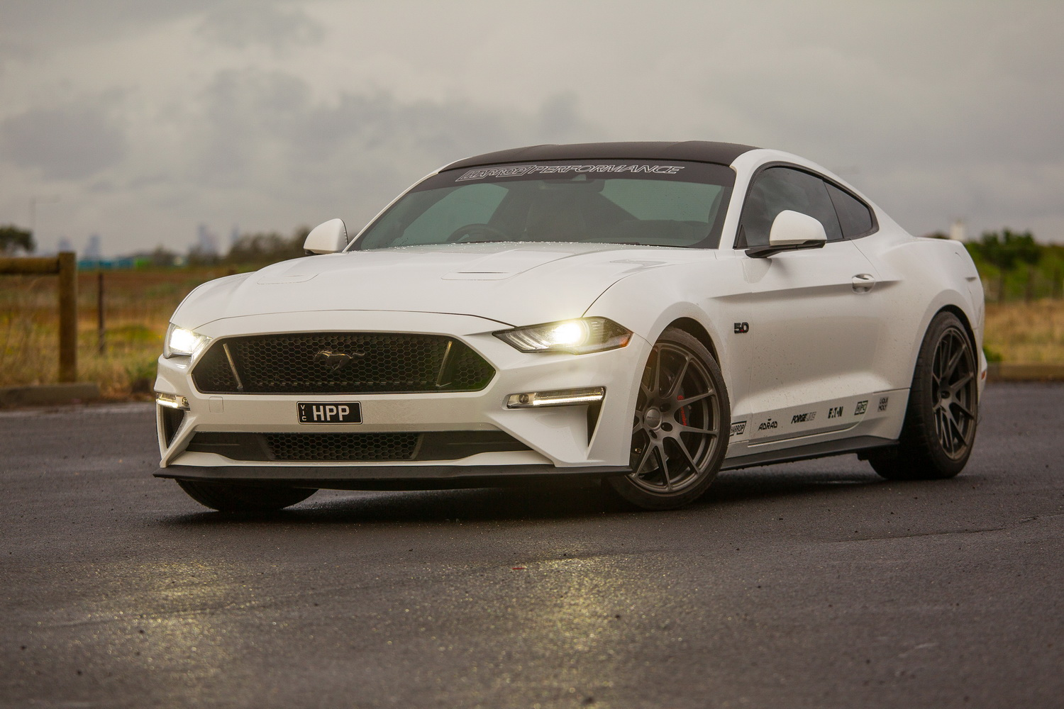 Need more beast? Try Harrop's Supercharged Ford Mustang V8