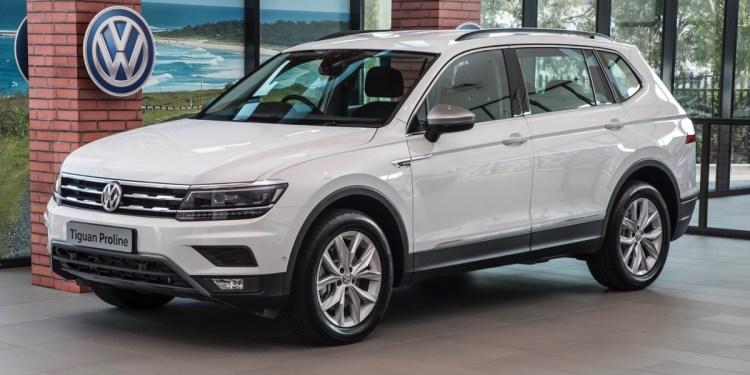 VW Tiguan Proline front