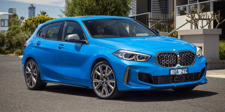 BMW M135i xDrive front