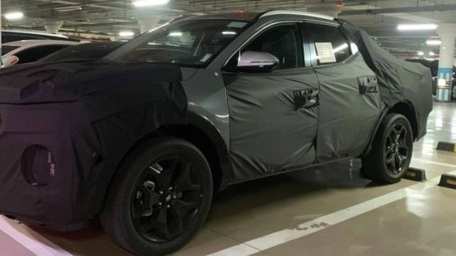 Hyundai Santa Cruz ute
