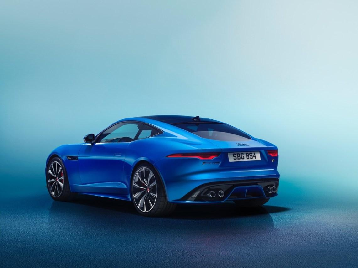 2021 Jaguar F-Type Australia rear