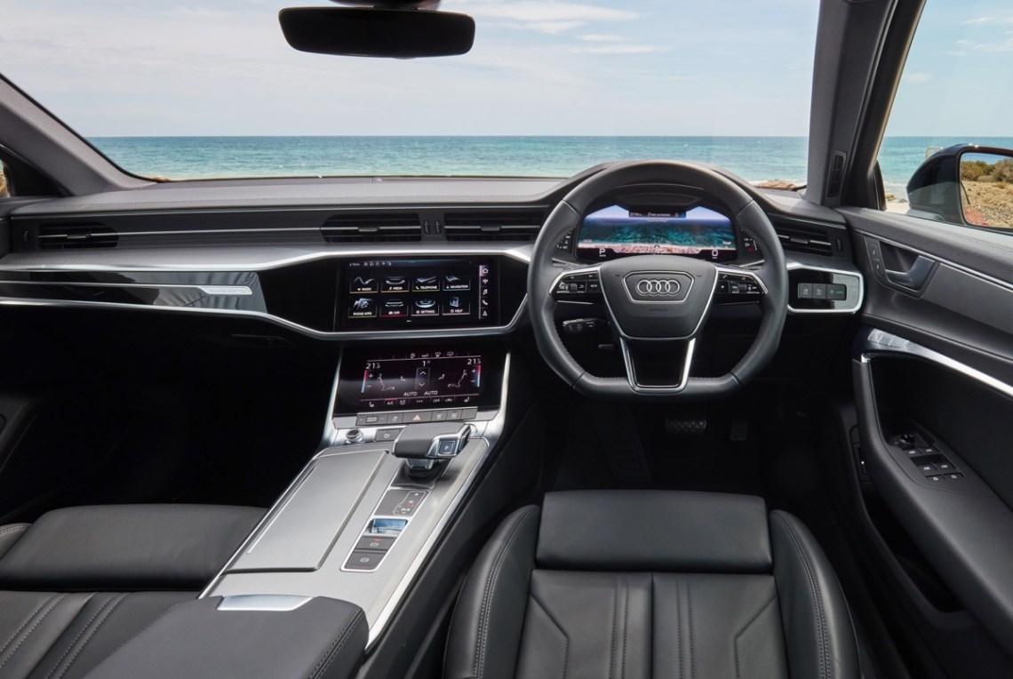 2020 Audi A6 45 TFSI interior