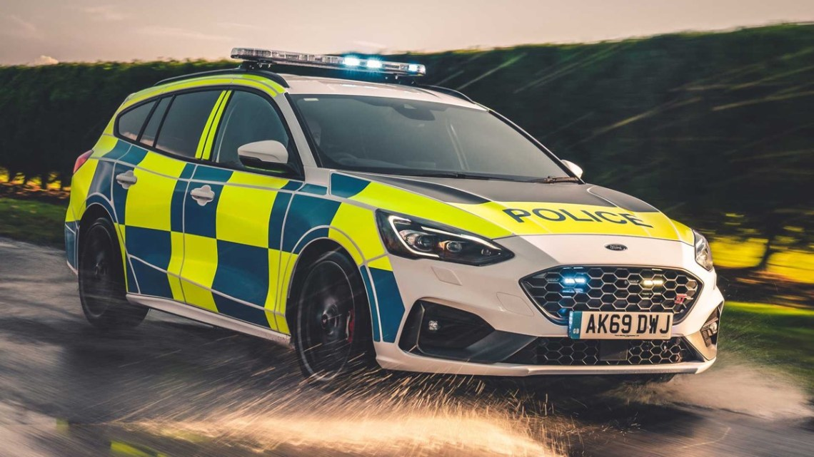 Ford Focus ST wagon police car UK